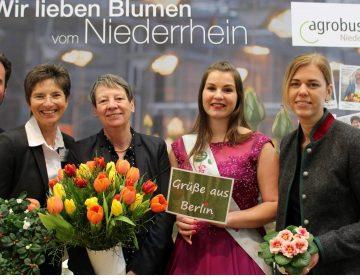 "Ministerin besucht Agrobusiness Niederrhein u. LEADER-Region ""Leistende Landschaft e.V."""