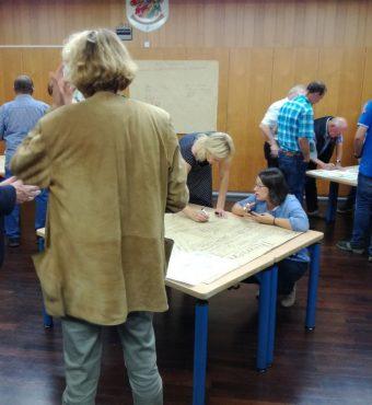 Gruppenarbeit Workshop Aktionsplan