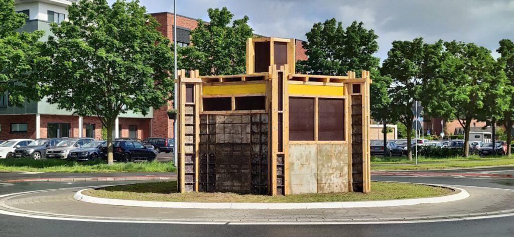Baustelle Kapelle KVP